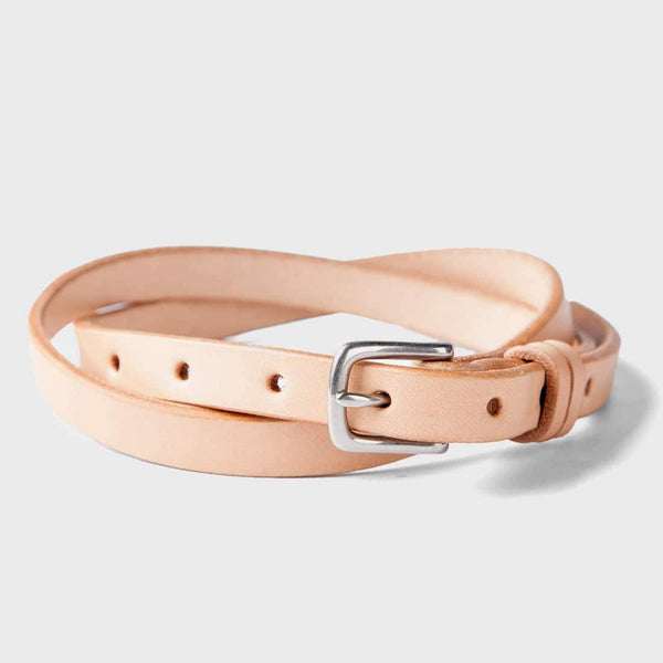 product: Tanner Goods Narrow Belt Natural