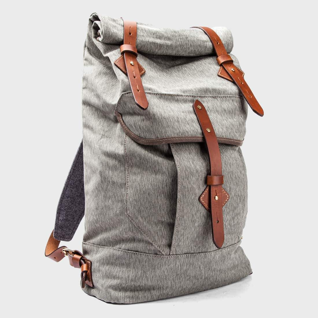 Tanner Goods Wilderness Rucksack Spruce/Salt & Pepper