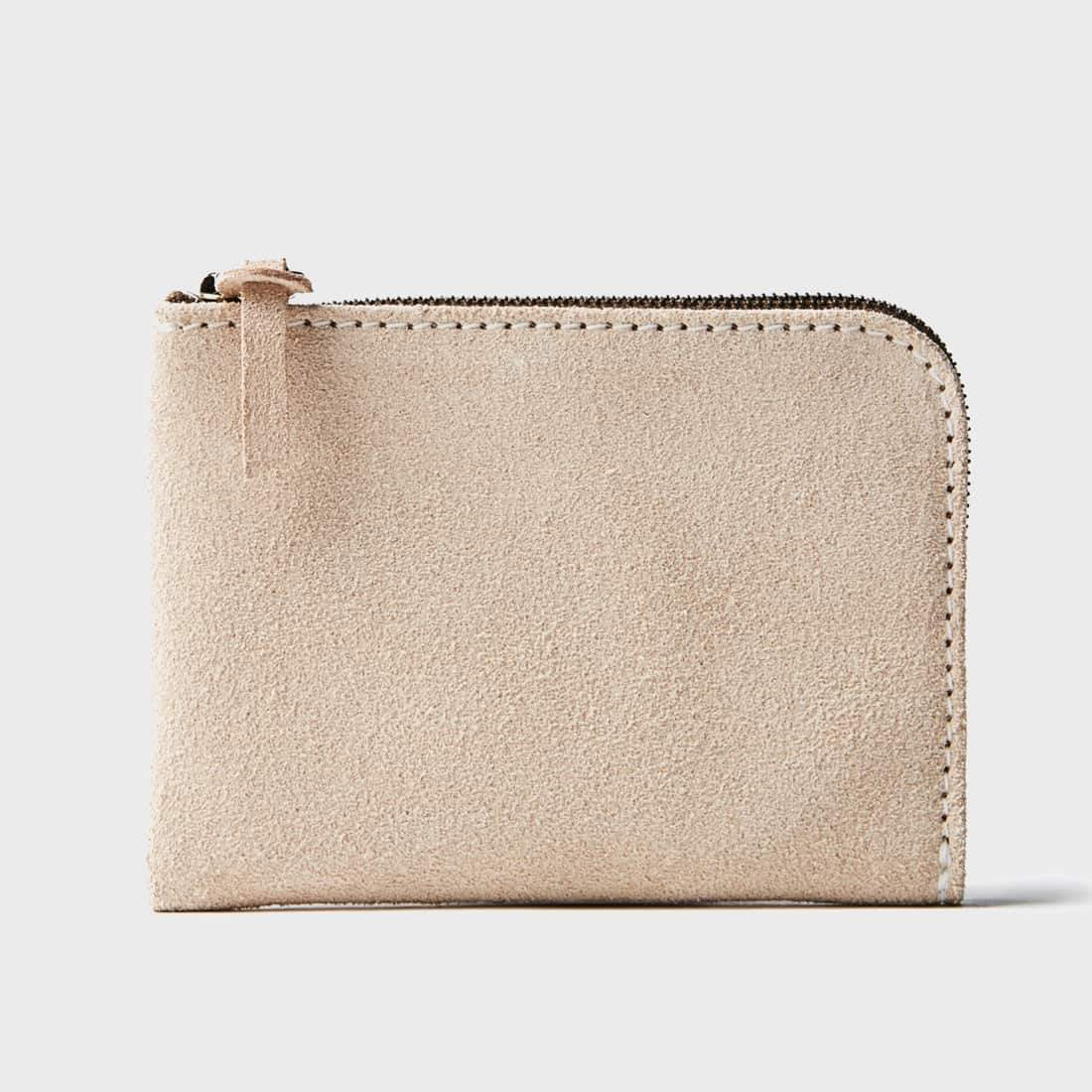 Tanner Goods Universal Zip Wallet Natural Roughout