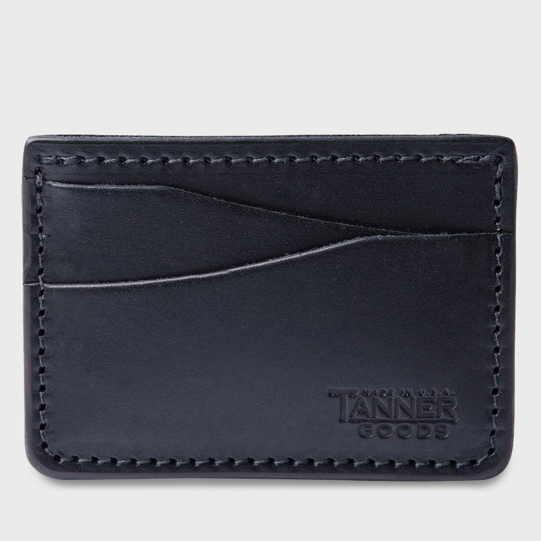 Tanner Goods Journeyman Wallet Black