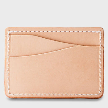product: Tanner Goods Journeyman Wallet Natural