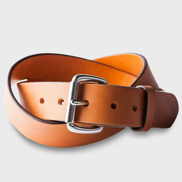product: Tanner Goods Standard Belt Saddle Tan / Stainless