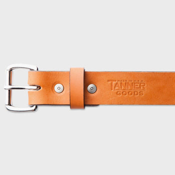 product: Tanner Goods Standard Belt Saddle Tan