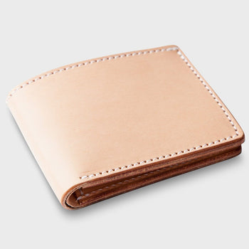 product: Tanner Goods Utility Bi Fold Wallet Natural