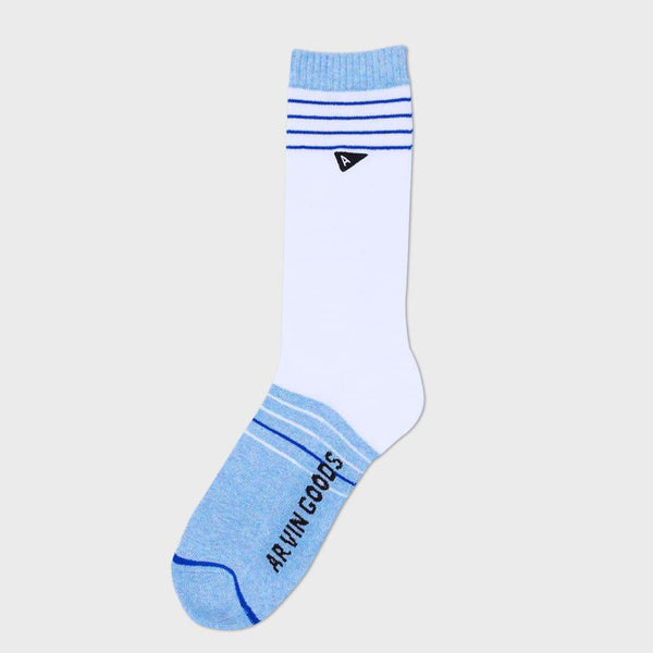 product: Arvin The Casual Sock Blanco / Celeste Melange