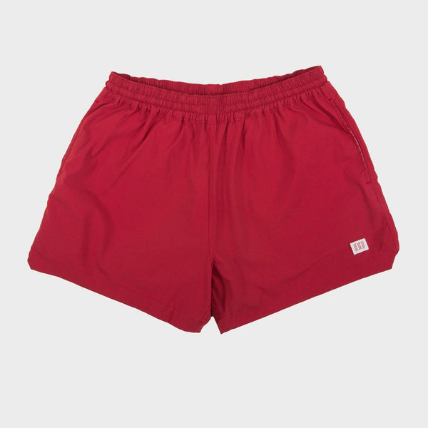 product: TOPO Designs Global Shorts Red