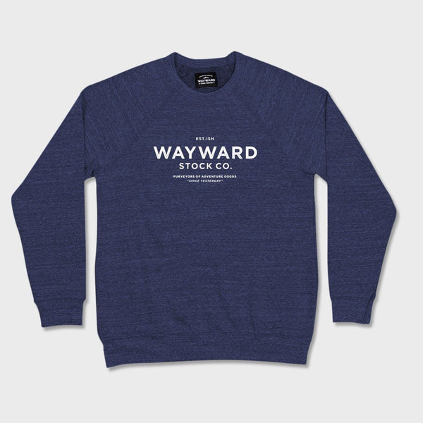 product: Wayward Stock Wayward Crew Neck Navy