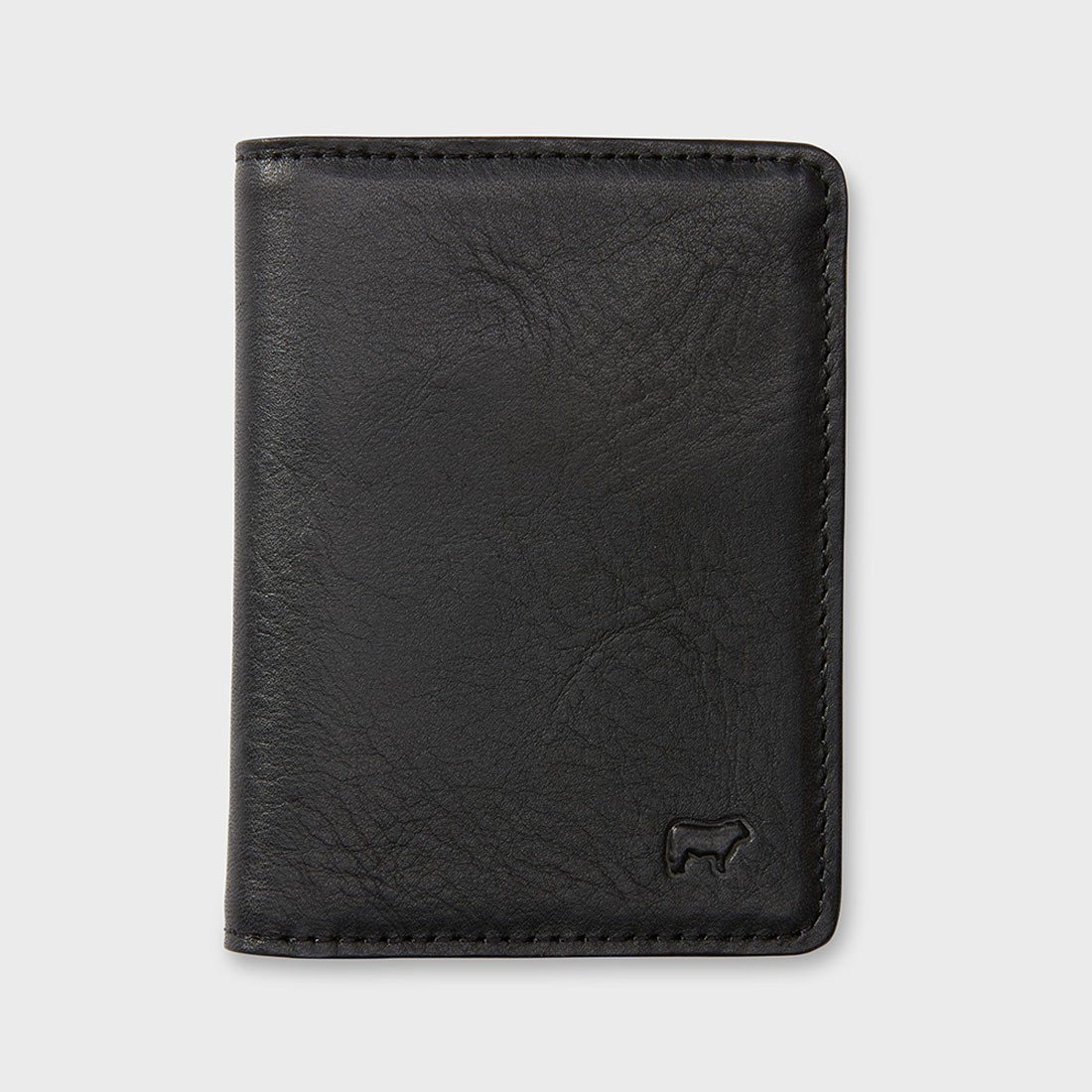 Will Leather Goods Cyrus Card Case Black