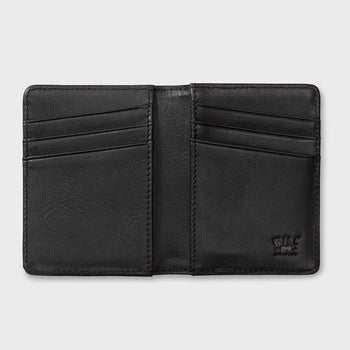 product: Will Leather Goods Cyrus Card Case Black