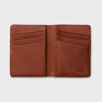 product: Will Leather Goods Cyrus Card Case Cognac