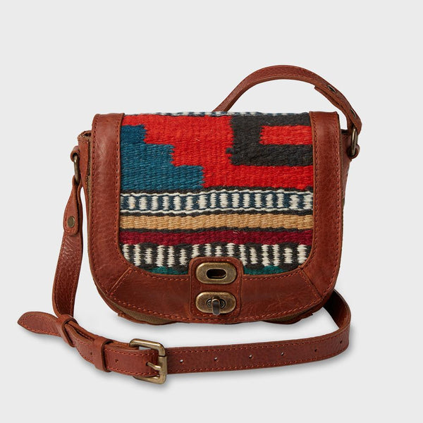 product: Will Leather Goods Oaxacan Small Cross Body Cognac
