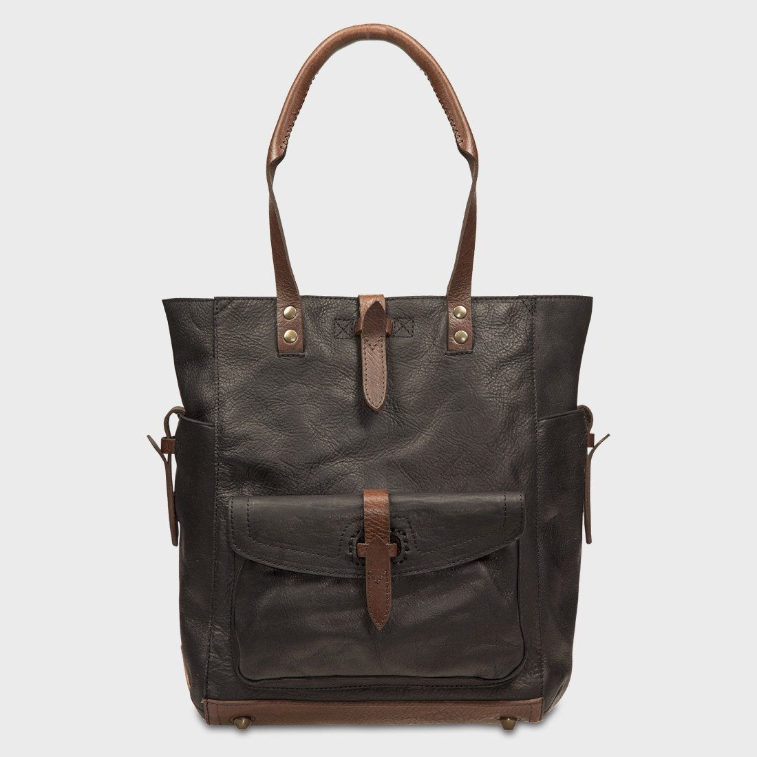 Will Leather Goods Ashland Tote Black