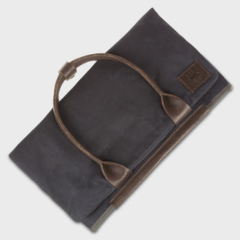 product: Will Leather Goods Cooper Spur Tote Navy