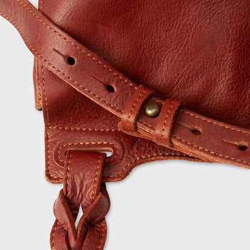 product: Will Leather Goods Cirrus Saddlebag Cognac