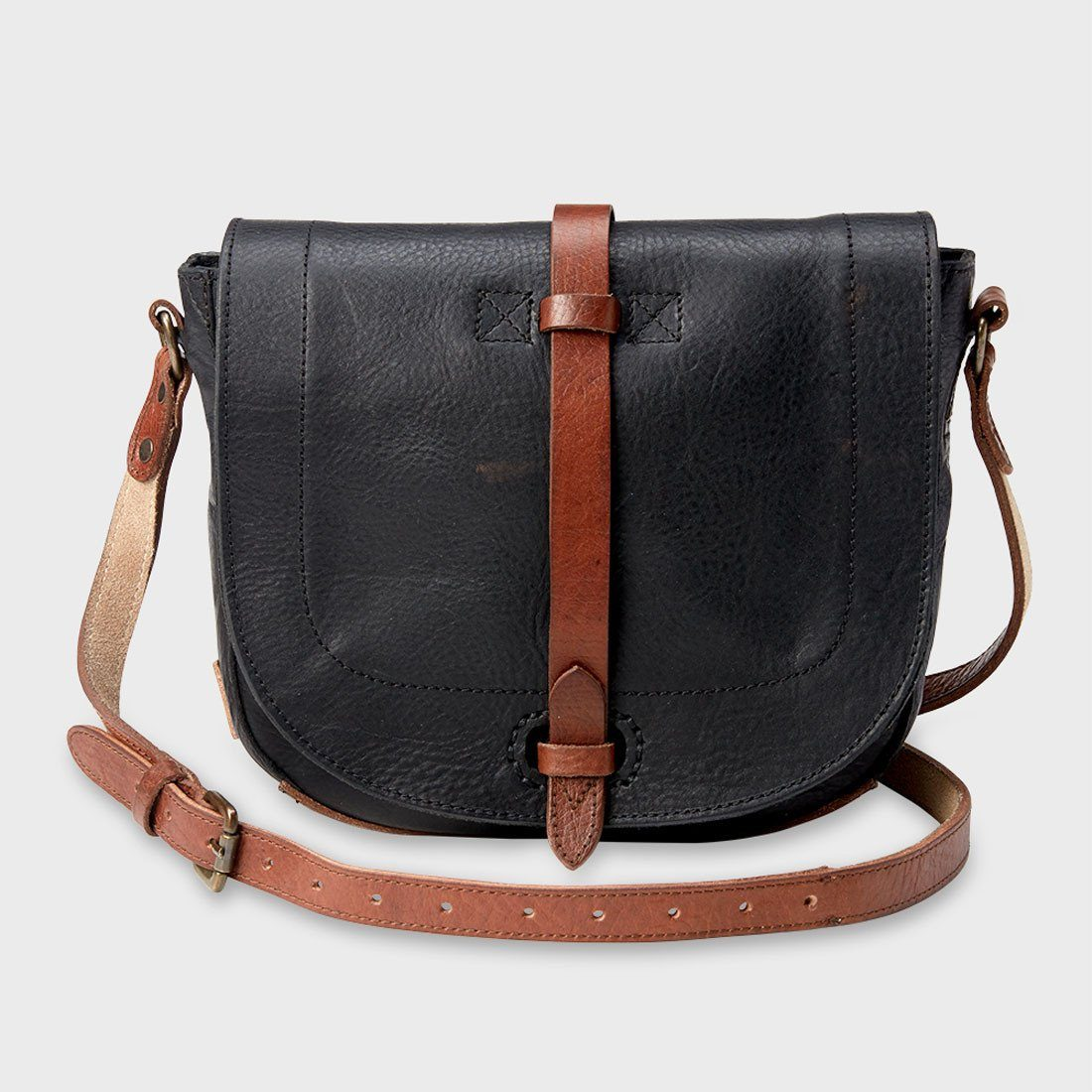 Will Leather Goods Seneca Crossbody Bag Black