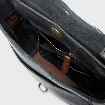 product: Will Leather Goods Seneca Crossbody Black