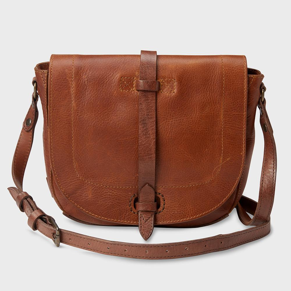 Will Leather Goods Seneca Crossbody Bag Tan