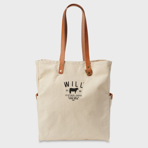 product: Will Leather Goods Workhorse Carryall Natural