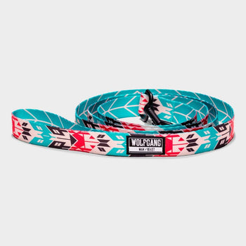 "product: Wolfgang Man & Beast Leash 1"" x 6' Fur Trader"