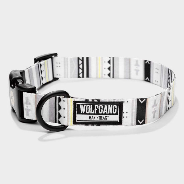 product: Wolfgang Man & Beast Collar S White Owl