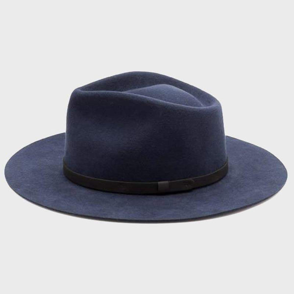 product: Yellow 108 Dylan Fedora Navy
