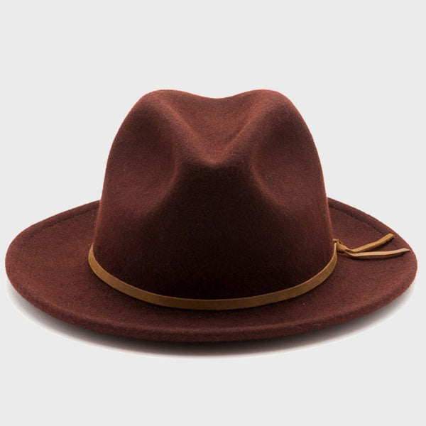 product: Yellow 108 Luke Fedora Port