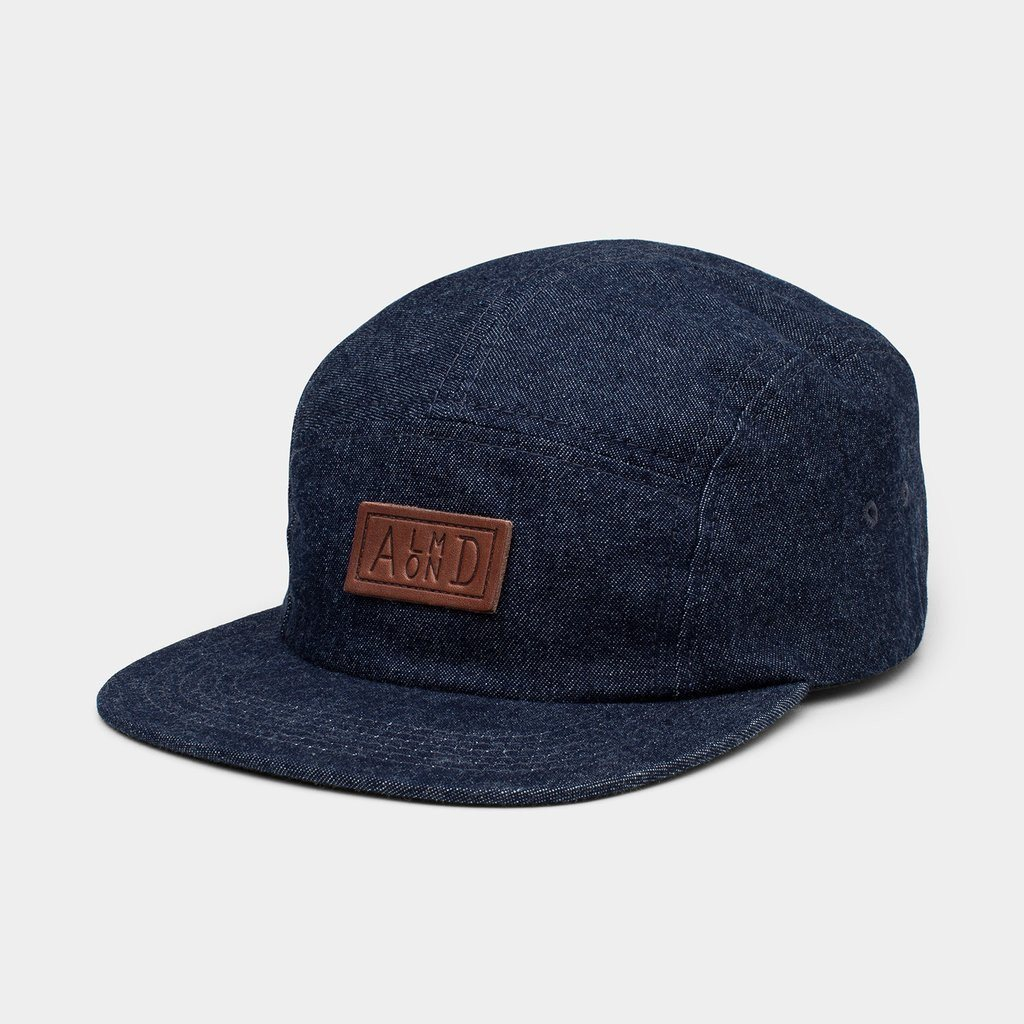 Almond Surfboards Denim Camp Hat