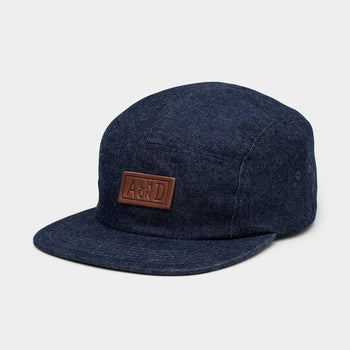product: Almond Surfboards Denim Camp Hat