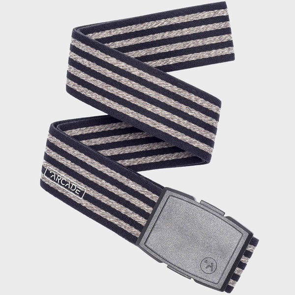 product: Arcade Don Carlos Belt Black/ Oatmeal