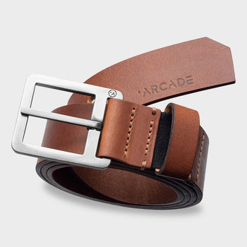 product: Arcade Padre Belt Brown