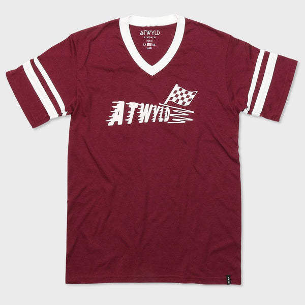 product: Atwyld Faster T-shirt Oxblood