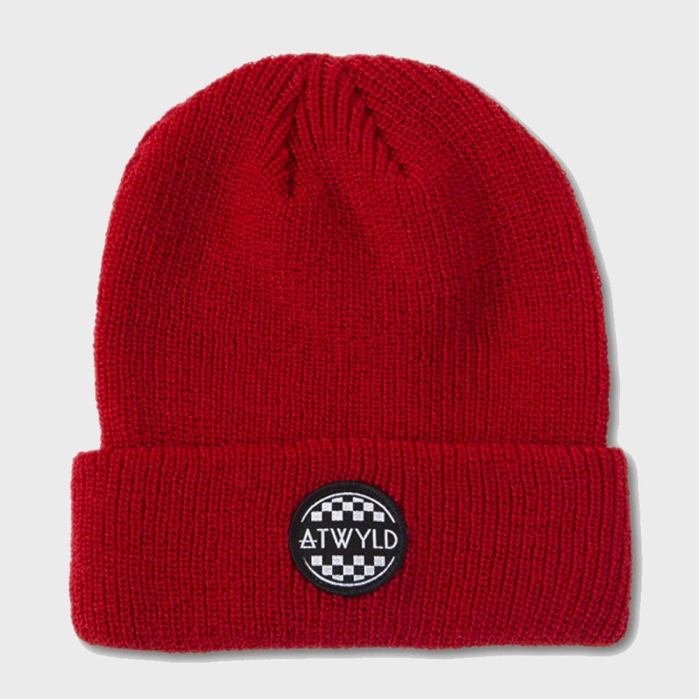 Atwyld Women's Hot Lap Beanie Red