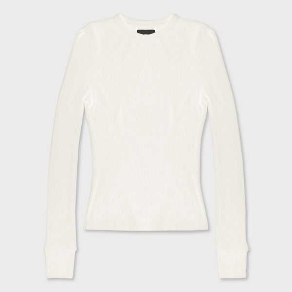 product: Atwyld Women's Proxima Thermal Shirt Vintage White