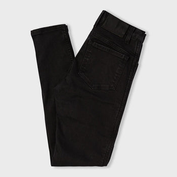 product: Atwyld Women's Raven Moto Jeans Black