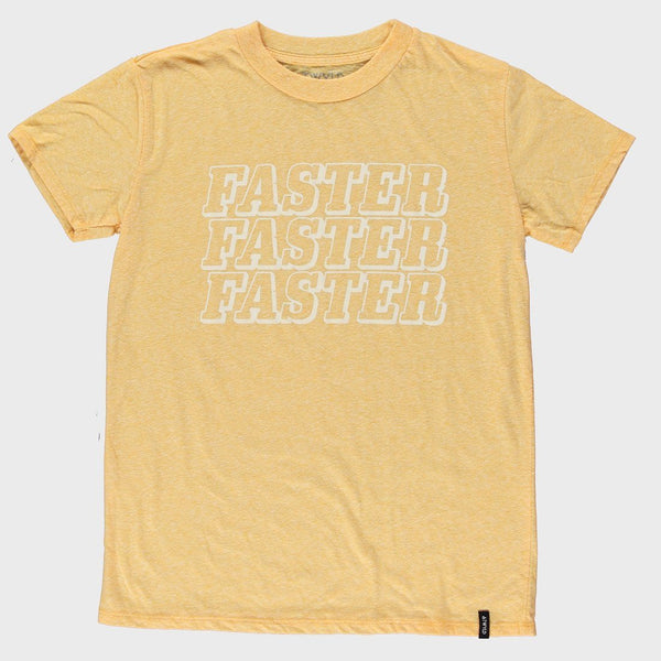 product: Atwyld Real Fast T-shirt Yellow Heather