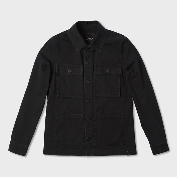 product: Atwyld Women's Roadside Shirt Jacket Black
