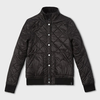 product: Atwyld Women's Vorteks Reversible Puffer Black