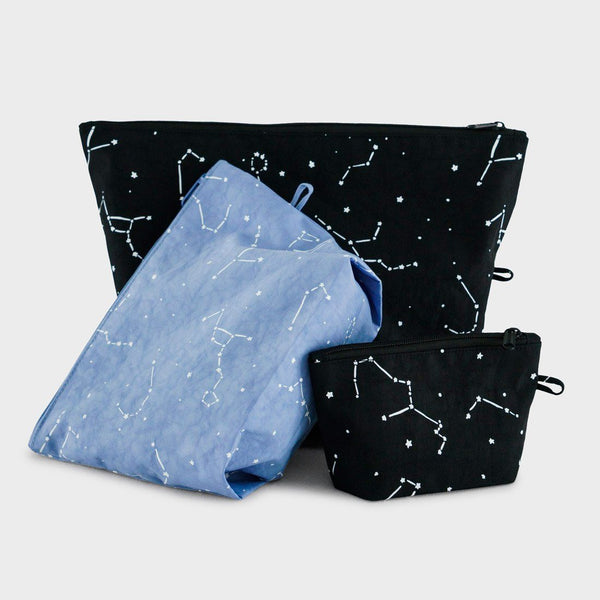 product: Baggu Go Pouch Set Constellation