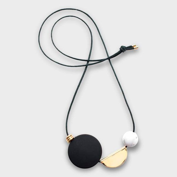 product: Baleen Bevy Necklace N 5 Black
