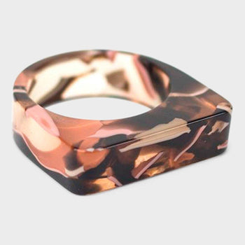product: Baleen Level Ring Rose Confetti