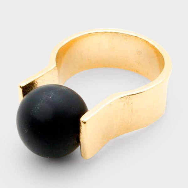 product: Baleen Orbit Ring Gold
