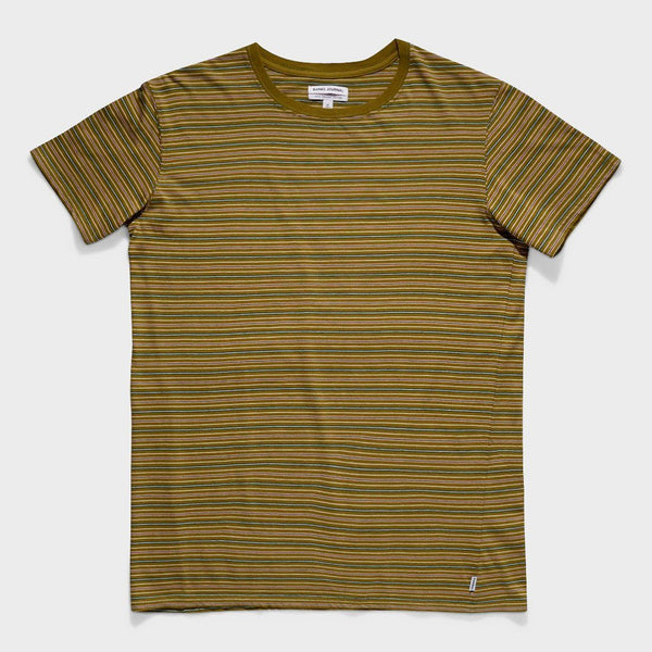 product: Banks Journal Atlas T-Shirt Army Olive