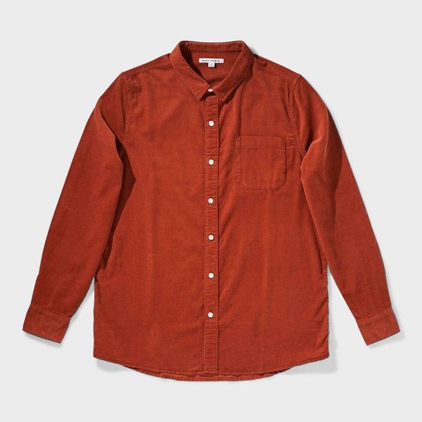 product: Banks Journal Roy Woven Shirt Sierra