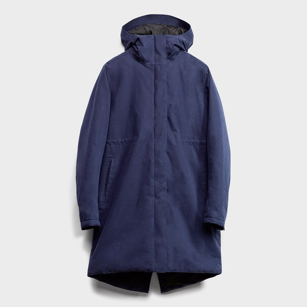 product: Baro Women's Northlands Insulated Jacket Navy