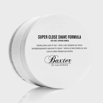 product: Baxter of California Super Close Shave Formula