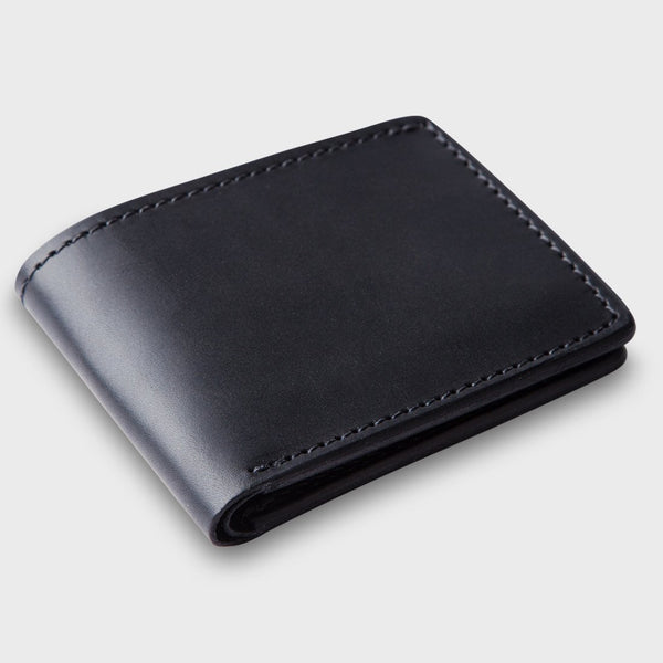 product: Tanner Goods Utility Bi Fold Wallet Black