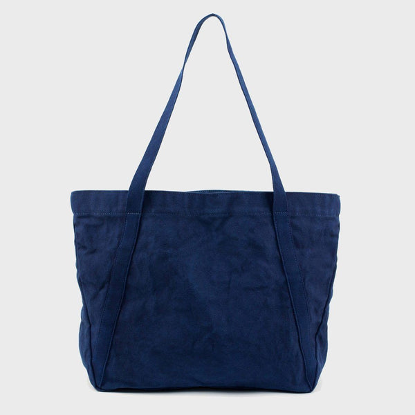 product: BLK PINE Angle Medium Tote Indigo