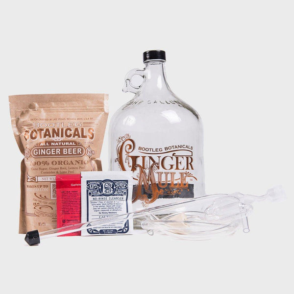 product: Bootleg Botanicals DIY Ginger Beer Making Kit