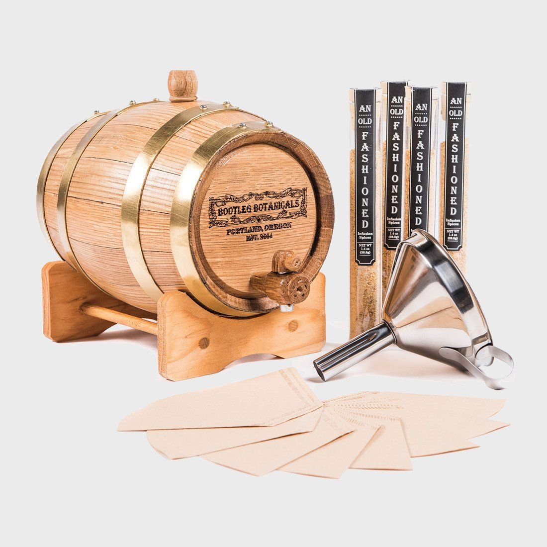 Bootleg Botanicals Old Fashioned Cocktail Barrel Aging Kit