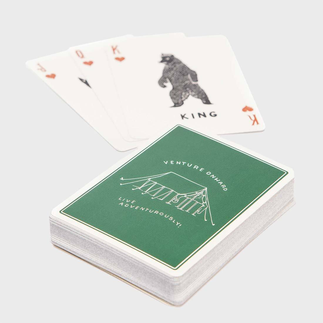 Bradley Mountain Camp Cards Green